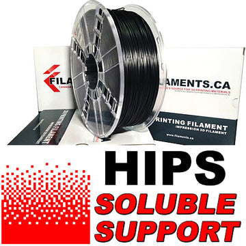 HIPS Filament - BLACK - 1.75mm