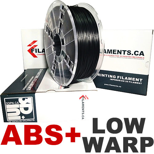 Low Warp ABS+ 3D Printer Filament Canada
