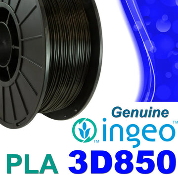 Genuine INGEO PLA 3D850 Filament - Black - 1.75mm