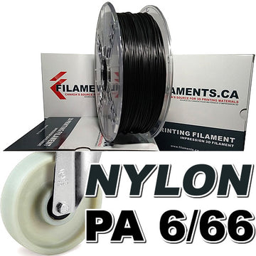 Nylon PA Filament - BLACK - 2.85mm