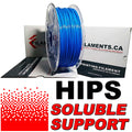 HIPS Filament - BLUE - 2.85mm