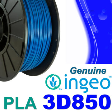 Genuine INGEO PLA 3D850 Filament - Blue - 1.75mm