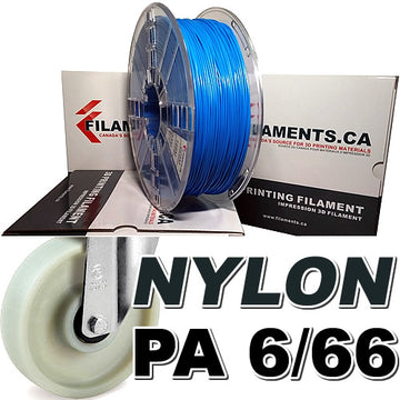 Nylon PA Filament - BLUE - 2.85mm
