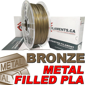 PLA Filament - Bronze Fill - 1.75mm
