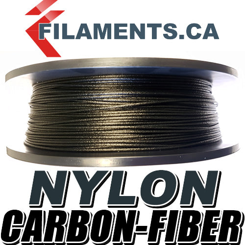 Carbon Fiber Nylon PA CF 3D Printer Filament Canada