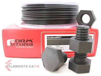 CarbonFil Filament - BLACK - 1.75mm - 0.5 KG