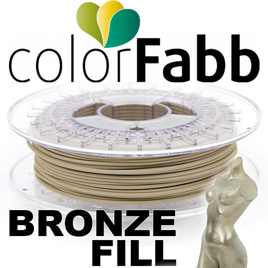 ColorFabb BronzeFill Metal 3D Printer Filament