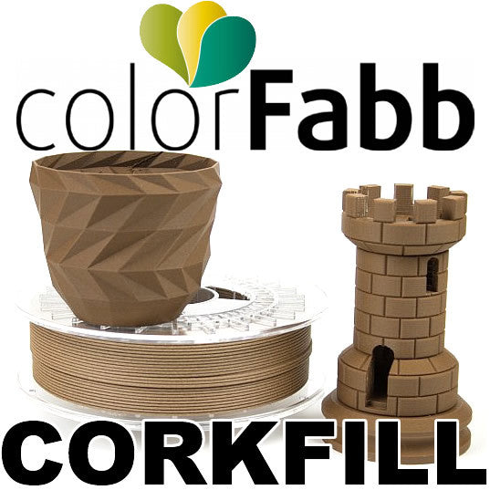 Colorfabb CorkFill Cork 3D printer filament Canada