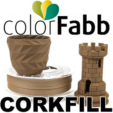 ColorFabb CORKFILL - 1.75mm