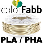 ColorFabb PLA/PHA - Pale Gold - 2.85mm