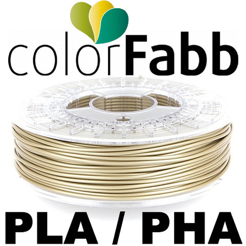 ColorFabb PLA/PHA - Pale Gold - 1.75mm