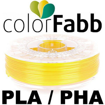 ColorFabb PLA/PHA - Yellow Transparent - 1.75mm
