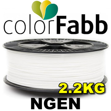 ColorFabb NGEN 2.2KG - White - 1.75mm