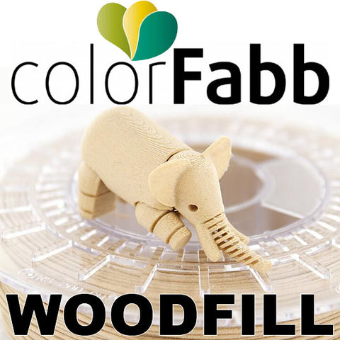 ColorFabb WoodFill 3d Printer Filament Canada