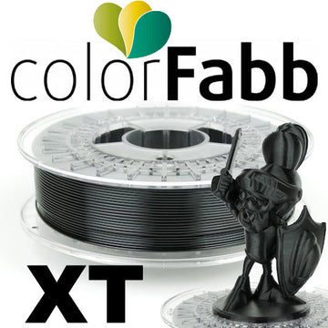 ColorFabb XT Copolyester - Black - 1.75mm