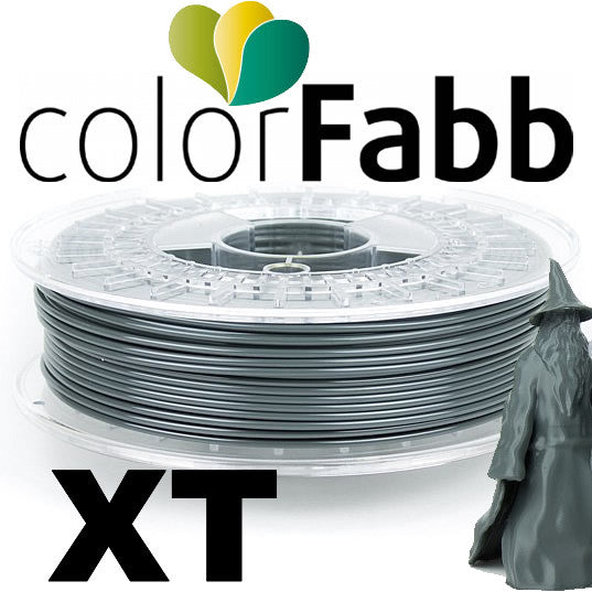 ColorFabb XT Copolyester - Dark Grey - 2.85mm