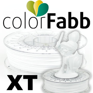ColorFabb XT Copolyester - White - 2.85mm