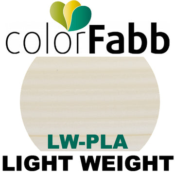 ColorFabb LW PLA Light Weight - NATURAL - 1.75mm