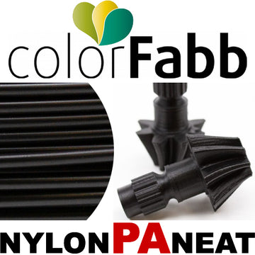 ColorFabb Nylon PA NEAT - BLACK - 2.85mm