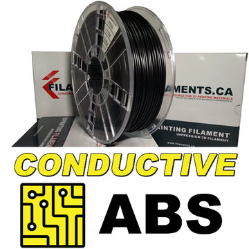 Conductive ABS Filament - BLACK - 2.85mm