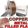 PLA Filament - Copper Fill - 1.75mm