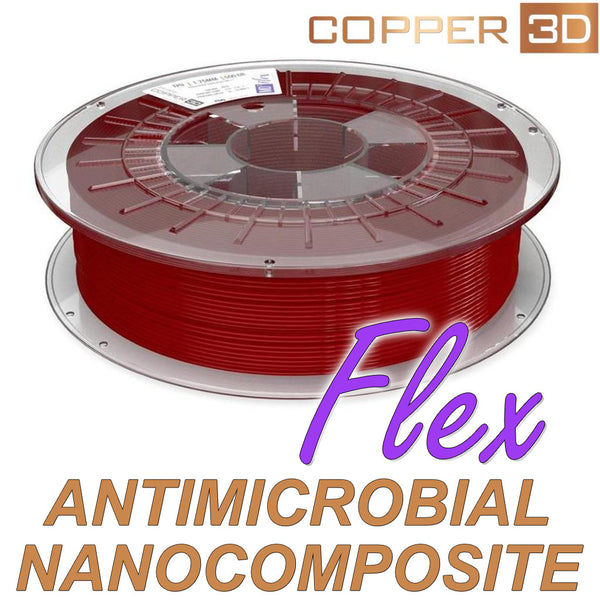 Copper3D MD Flex TPU Antimicrobial 3D Printing Filament Canada