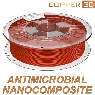 Copper3D (Antimicrobial) PLActive - Red - 2.85mm