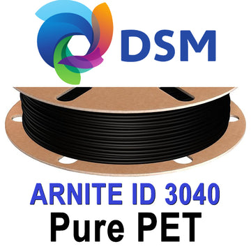 DSM Arnite 3040 PETP Filament - Black - 1.75mm