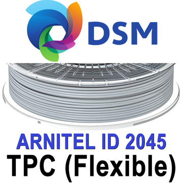 DSM Arnitel 2045 TPC Flexible Filament - Grey - 1.75mm