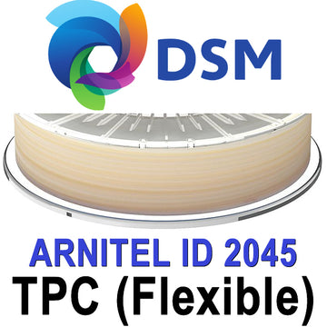 DSM Arnitel 2045 TPC Flexible Filament - Natural - 2.85mm