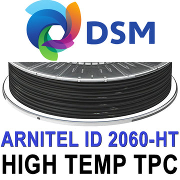 DSM Arnitel 2060-HT High Temp TPC Filament - Black - 1.75mm