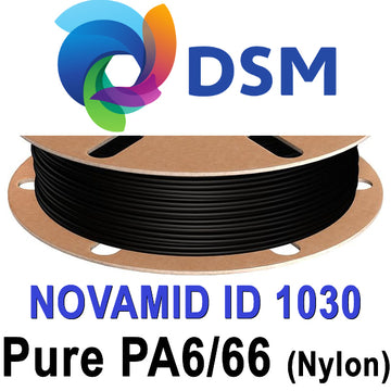 DSM Novamid 1030 Pure PA6/66 Nylon Filament - Black - 1.75mm