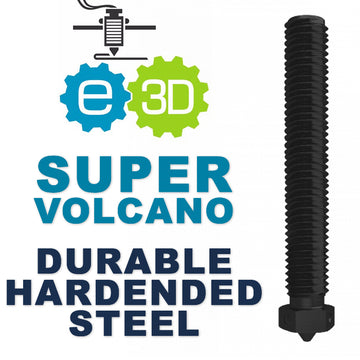 E3D Genuine SuperVolcano Nozzle - Hardened Steel