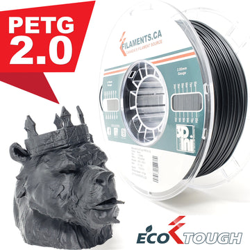 EcoTough PETG 2.0 - Black - 1.75mm