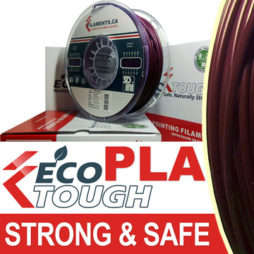 EcoTough™ PLA Filament - Deep Purple - 2.85mm