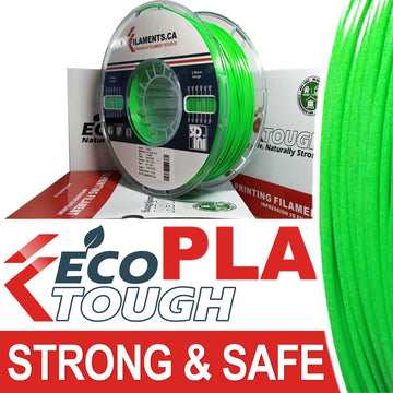 EcoTough™ PLA Filament - GREEN - 2.85mm
