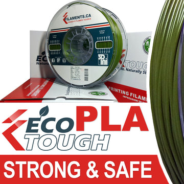 EcoTough™ PLA Filament - Olive Drab - 2.85mm