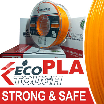 EcoTough™ PLA Filament - ORANGE - 2.85mm