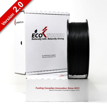EcoTough™ PLA 2.0 - Black - 1.75mm