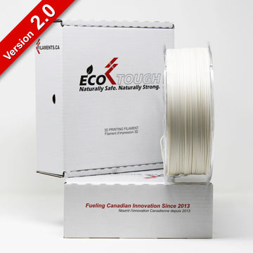 EcoTough™ PLA 2.0 - Bone White - 1.75mm