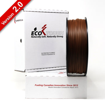 EcoTough™ PLA 2.0 - Brown - 1.75mm