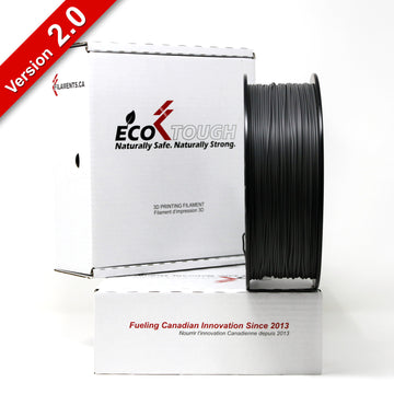 EcoTough™ PLA 2.0 - Dark Grey - 1.75mm