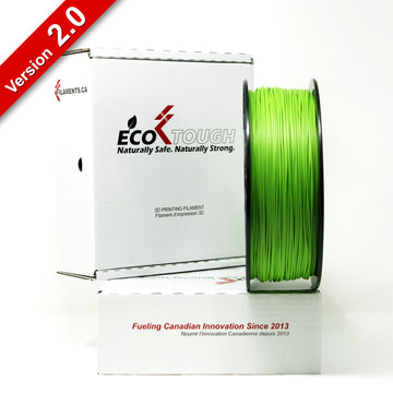 EcoTough™ PLA 2.0 - Light Green - 1.75mm