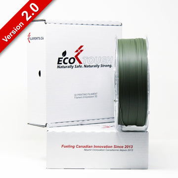EcoTough™ PLA 2.0 - Military Green - 1.75mm