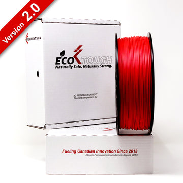 EcoTough™ PLA 2.0 - Red - 1.75mm
