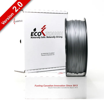 EcoTough™ PLA 2.0 - Silver - 1.75mm - 1KG