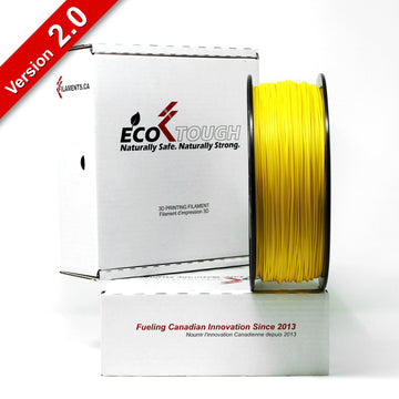 EcoTough™ PLA 2.0 - Yellow - 1.75mm