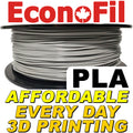 EconoFil™ Standard PLA Filament 1KG - Grey - 2.85mm