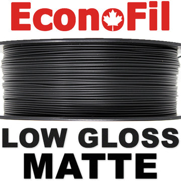 EconoFil™ Matte PLA - BLACK - 2.85mm