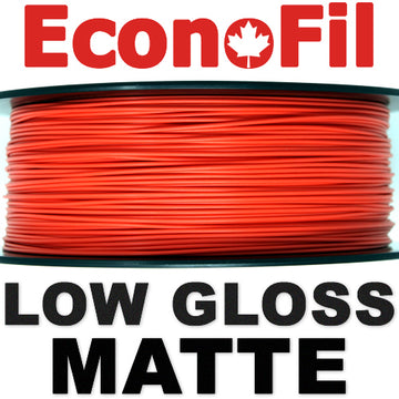 EconoFil™ Matte PLA - Red - 1.75mm